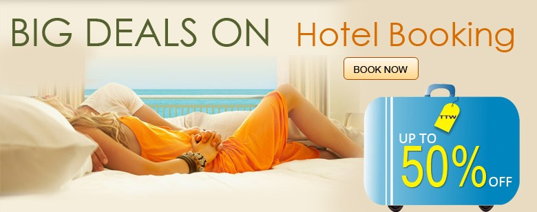 BIG DEALS ON HOTEL BOOKING