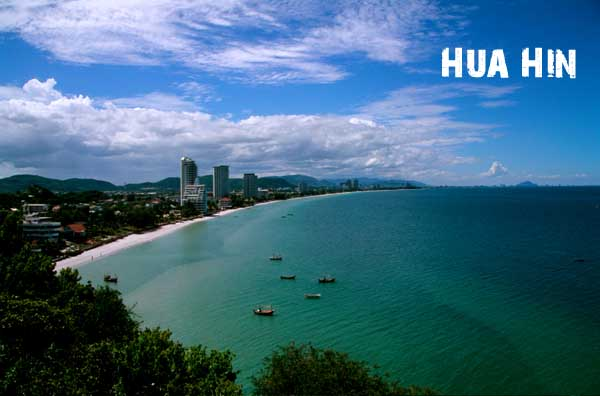 Let's visit Muslim Bangkok & Huahin  today !!! Hua Hin is a seaside resort city in Thailand. It is popular with Thais, having become quite fashionable as a weekend getaway spot for Bangkok residents, as well with foreigners and as an ex-pat retirement or holiday home location.