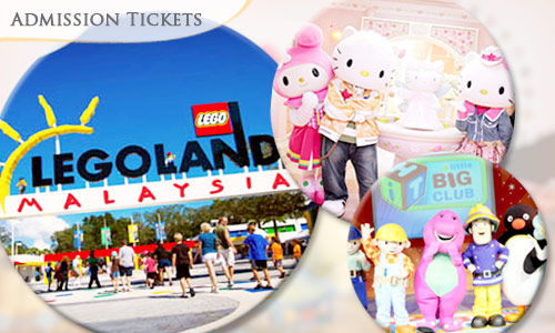 Let's visit Legoland/Waterpark/Hello Kitty /Little big Club  today !!! It is the ideal family holiday destination with more than 70 hands-on rides, slides, shows and attractions offering adventure, education and fun for action-packed day trips or short breaks. With so many things to do, one day simply is not enough.
