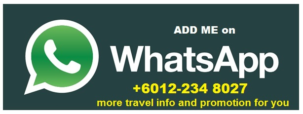 Add us in WhatsApp now...Get latest promo package from EazyTravels now..